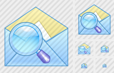 Email Search Icon