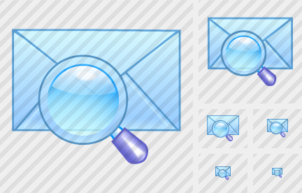 Email Unread Search Icon