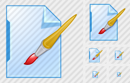 File Paint Icon