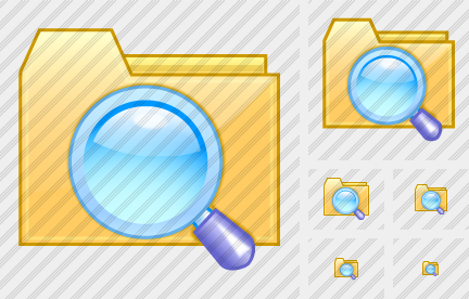 Folder Search 1 Icon