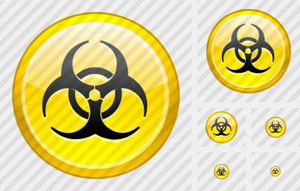 Hazardous Material Icon