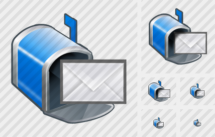 Mailbox Letter Icon