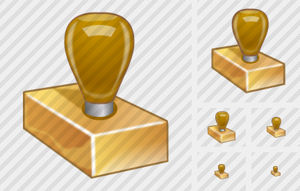 Rubber Stamp Icon